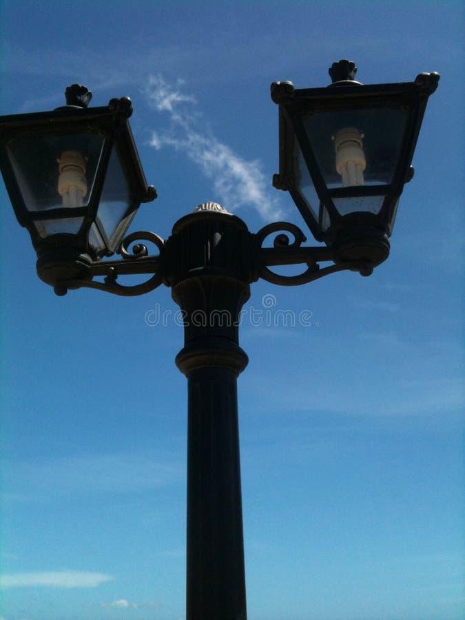 lamppost fotografía de archivo