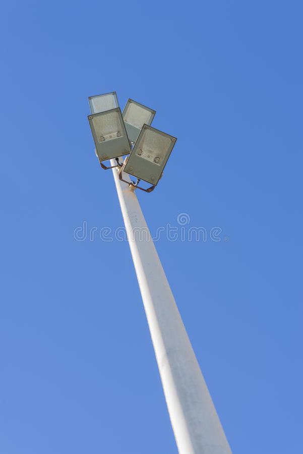 lamppost стоковое изображение rf
