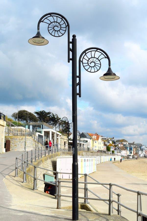 lamppost royaltyfri bild