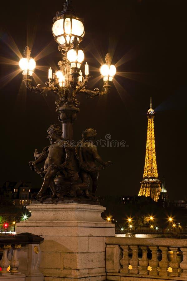 Download Lamppost On The Bridge Of Alexander III. Editorial Stock Image - Image: 21274274