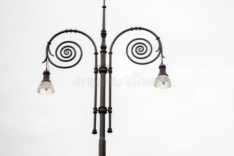 Lamppost i Florence royaltyfria bilder