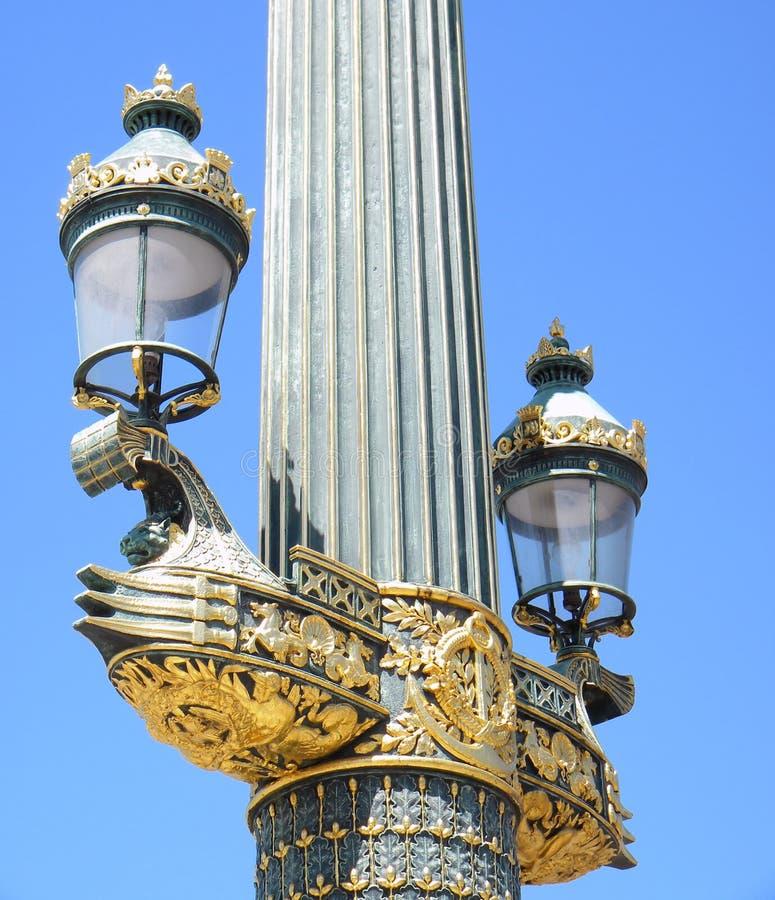 Download Lamppost, Paris stock photo. Image of paris, visit, decor - 9641700