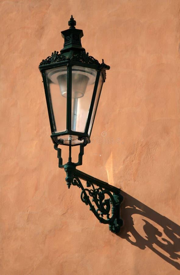 lampprague gata royaltyfria foton