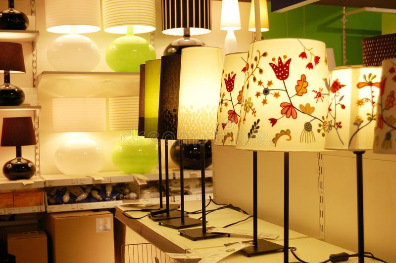 The lamps royalty free stock image