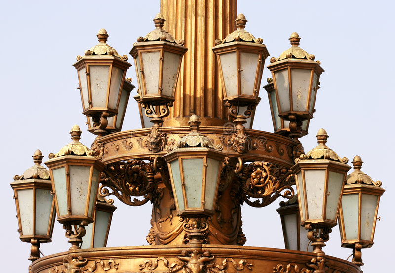 Download Lamps stock photo. Image of ancient, decorative, republic - 160468