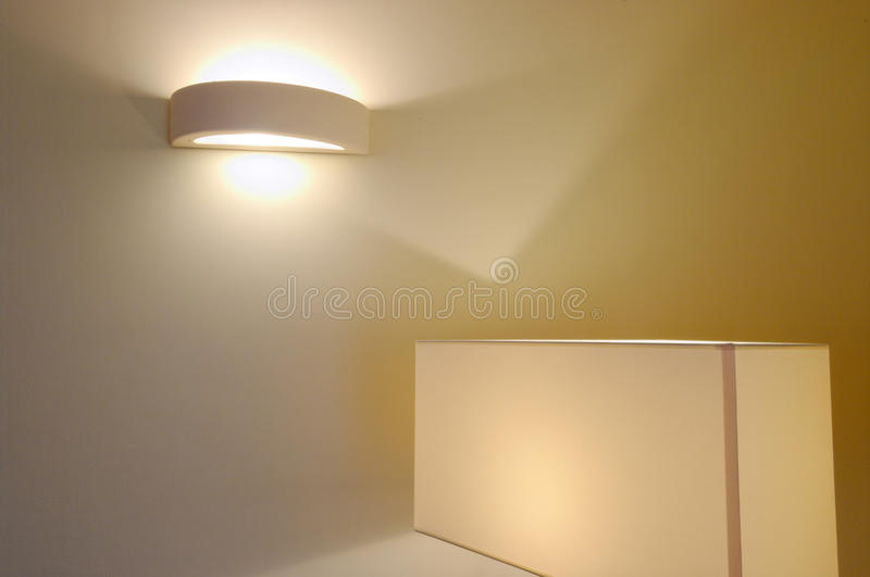 Download Lamps stock image. Image of lighting, floor, house, wall - 27700001