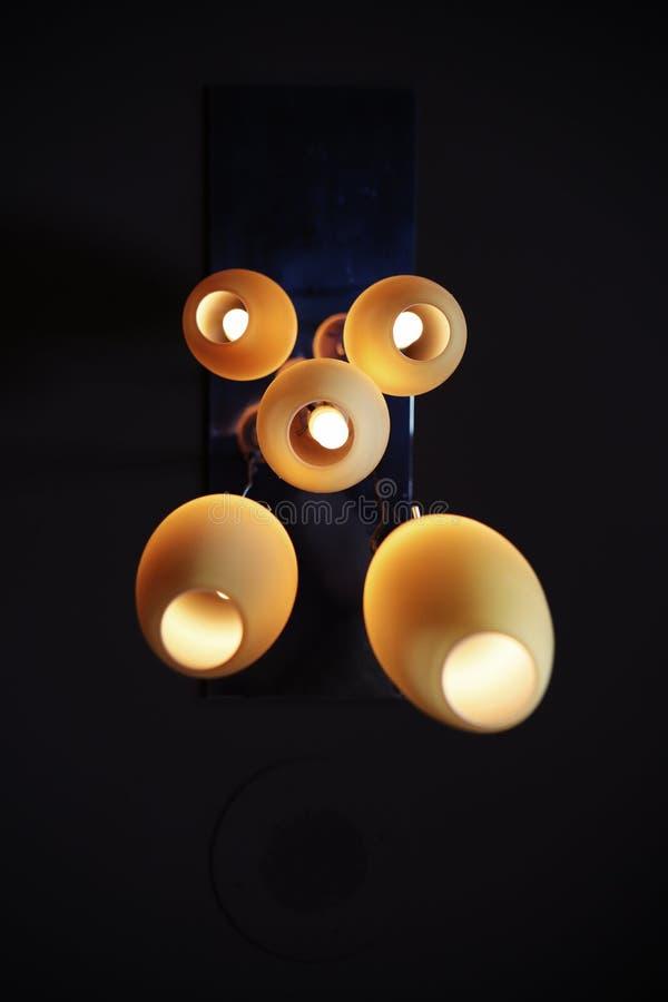 Lamps On Black Ceiling Free Public Domain Cc0 Image