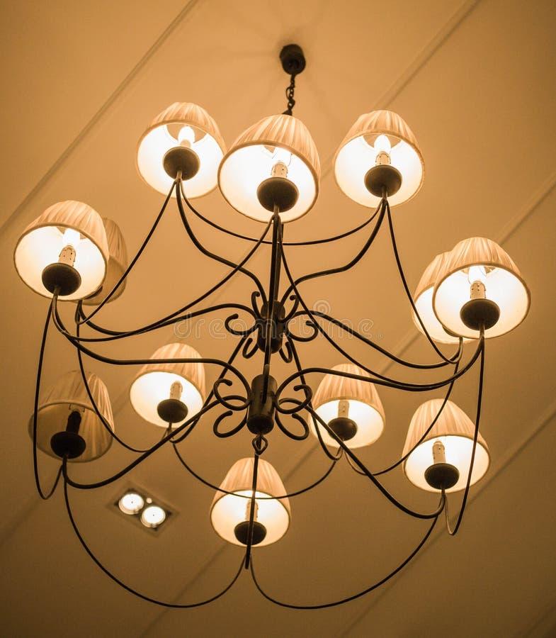 Lamps stock photo