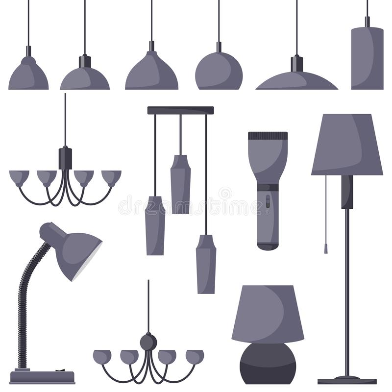Lamps of different types set chandeliers lamps bulbs table lamp download lamps of different types set chandeliers lamps bulbs table lamp mozeypictures Images