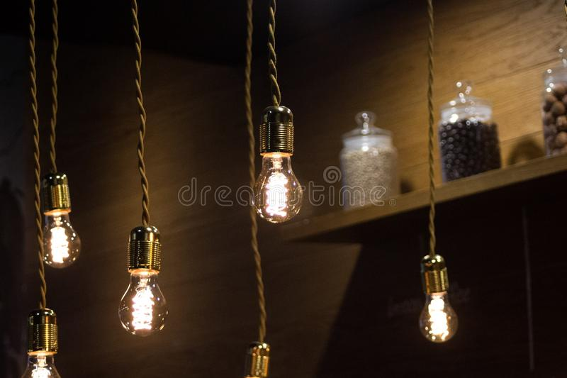 Lamps royalty free stock photography