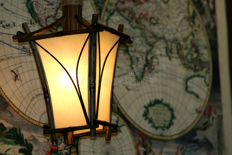 Download Lamps and map stock photo. Image of backgrounds, fire - 2303118
