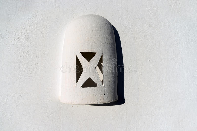 Lamps off clay. You see them everywhere around the island of Lanzarote, they are quit popular stock images