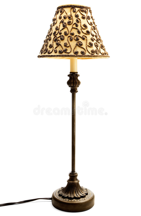 lampshade royaltyfria bilder
