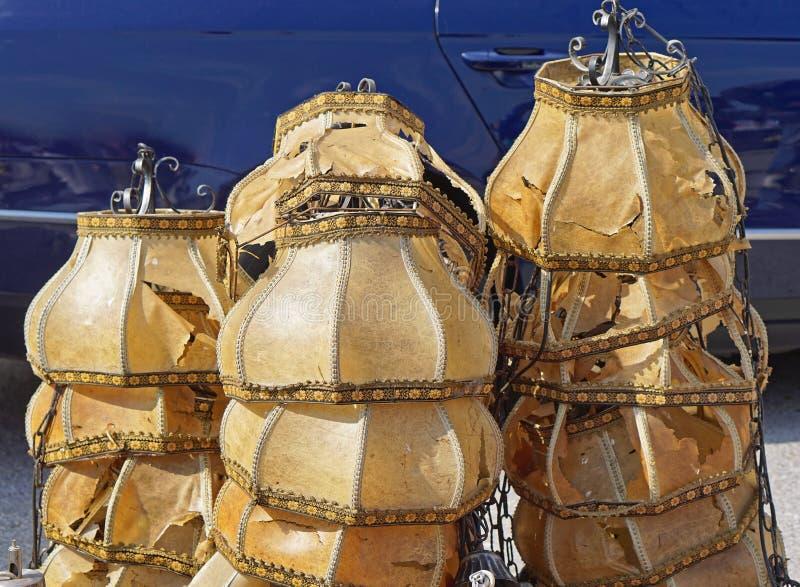lampshades royaltyfria bilder