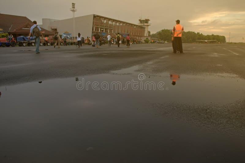 Lampung flygplats arkivfoton