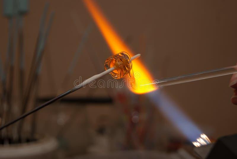 Lampwork imagen de archivo libre de regalías