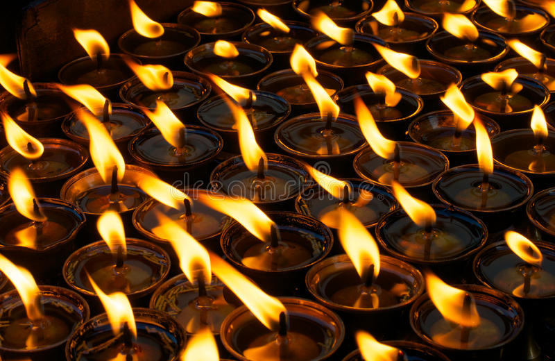 lampy modlitewne obrazy stock