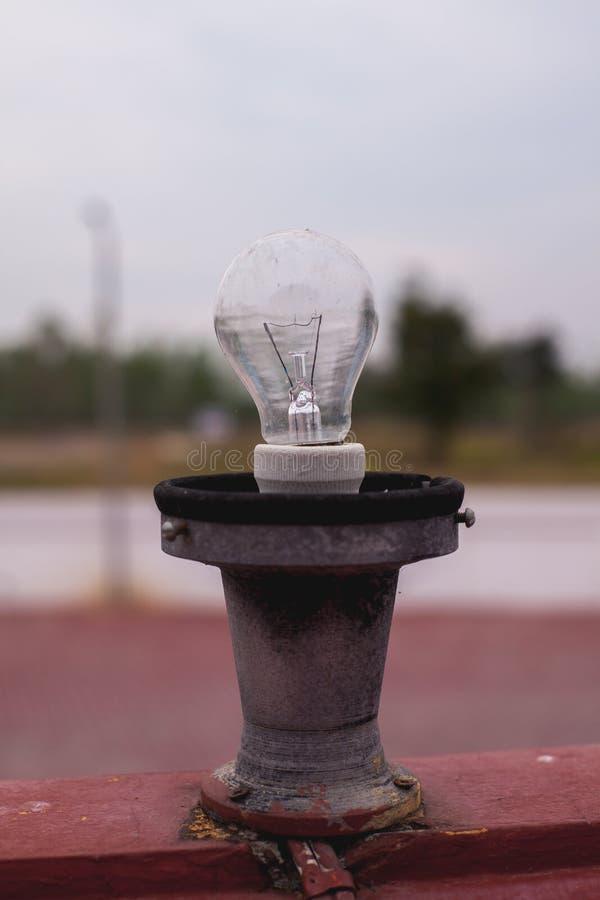 Lampy są w Tajlandzkiej świątyni obraz royalty free