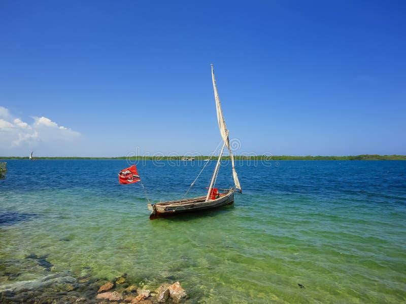 Lamu island in Kenya royalty free stock photography