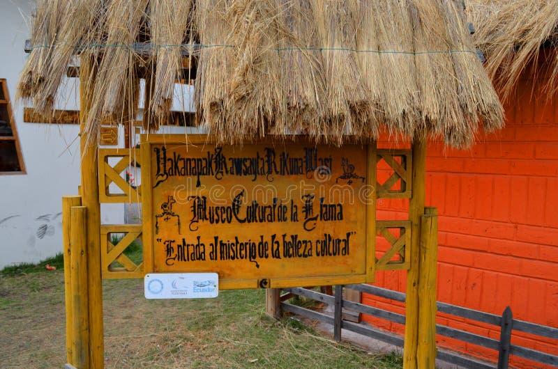 Lamy muzeum w Ekwador fotografia stock