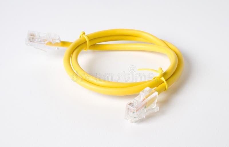 Lan-Kabel. lizenzfreies stockbild