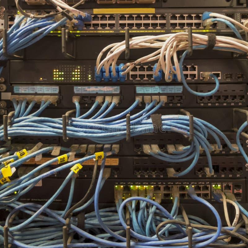 LAN Networking imagem de stock