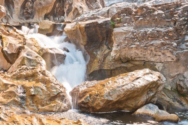 Lan Sang Waterfalls natural of Thailand stock image