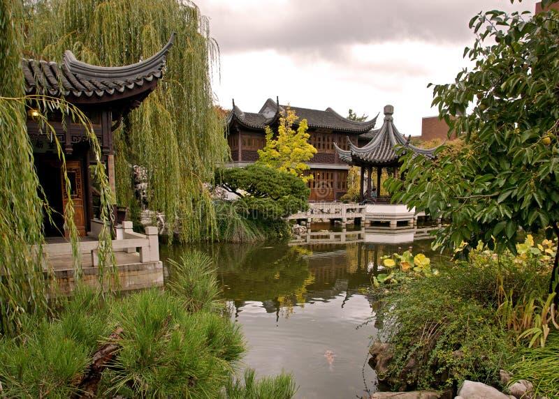 Lan Su Gardens In Portland Royalty Free Stock Image