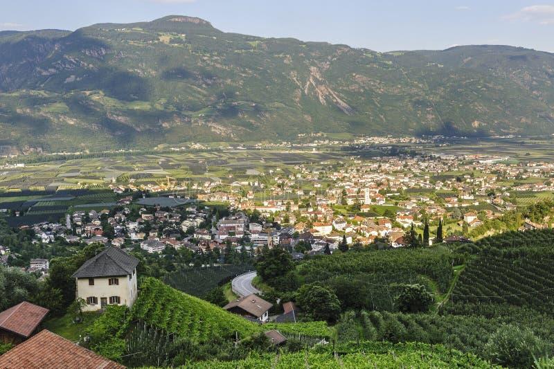 Lana (Bolzano) imagens de stock