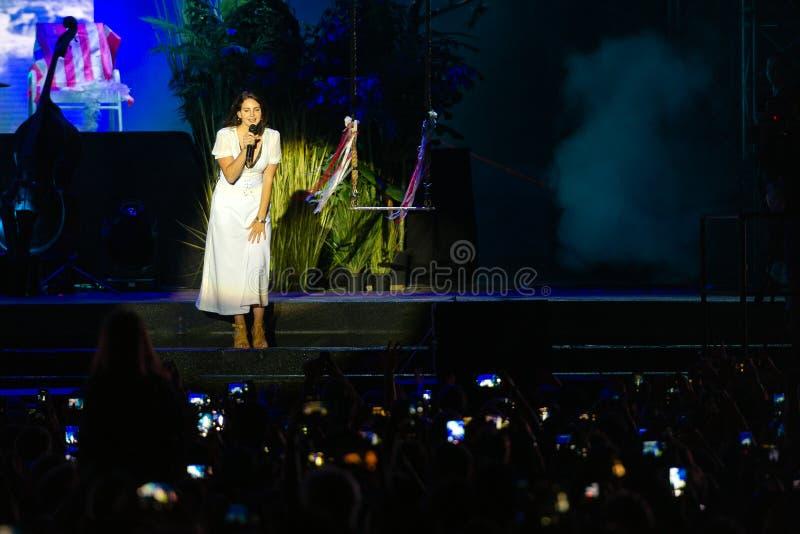 Lana Del Rey royalty-vrije stock afbeeldingen