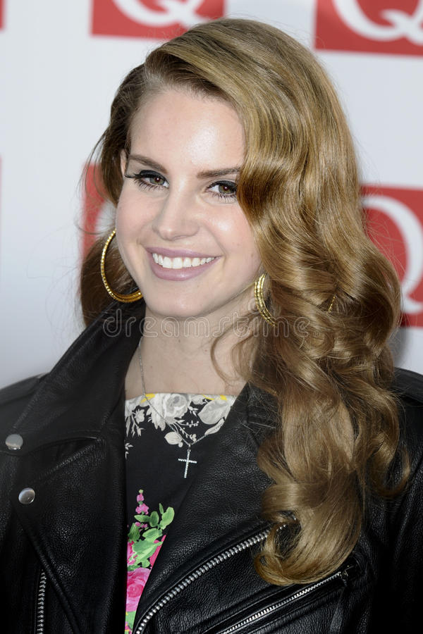 Lana Del Rey stock photo