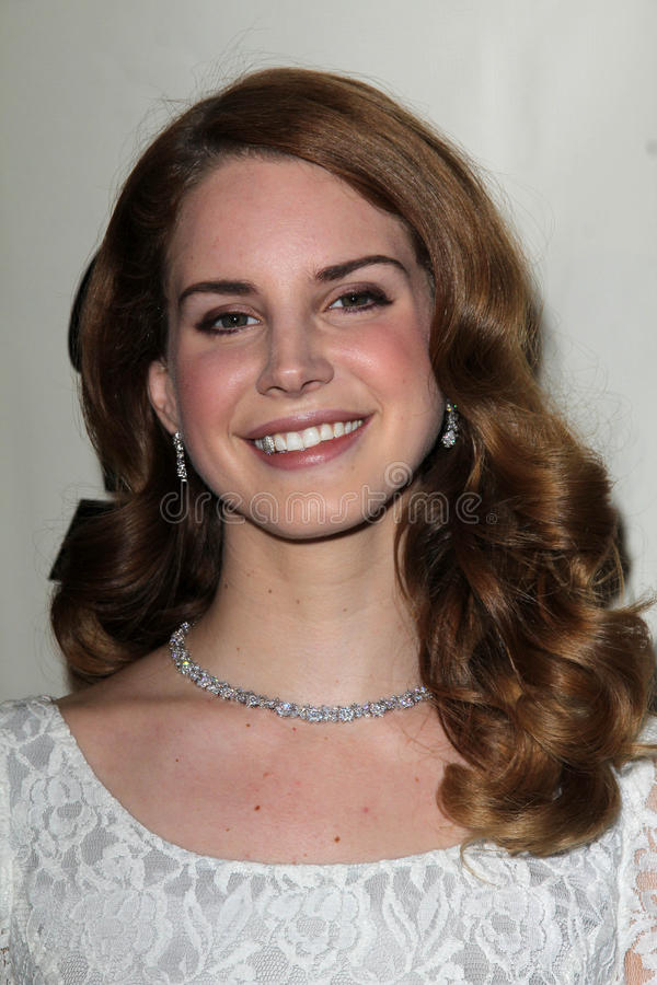 Free Lana Del Rey At The Producers & Engineers Wing Of The Recording Academy S 5th Annual GRAMMY Event, Village Recording Studios, Los Stock Photography - 23338352