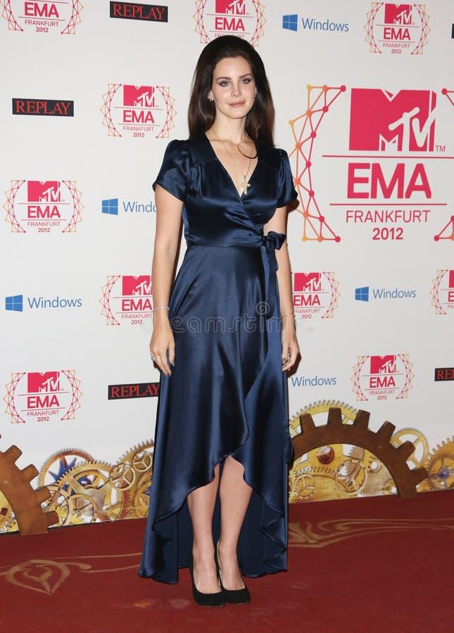 Lana Del Rey fotografia stock