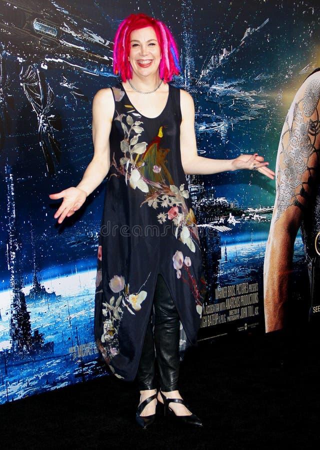 Lana Wachowski royalty-vrije stock afbeeldingen