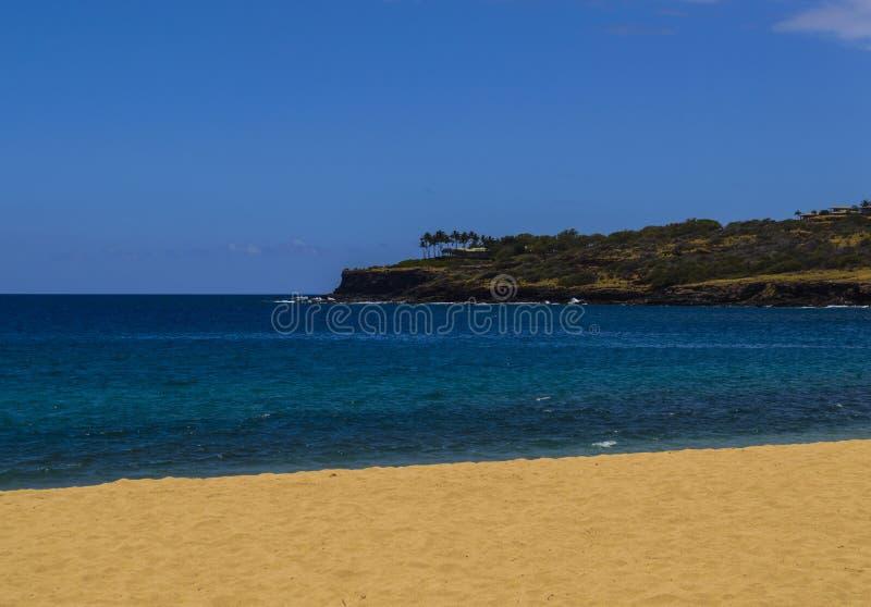 Lanai Sandy Beach foto de stock