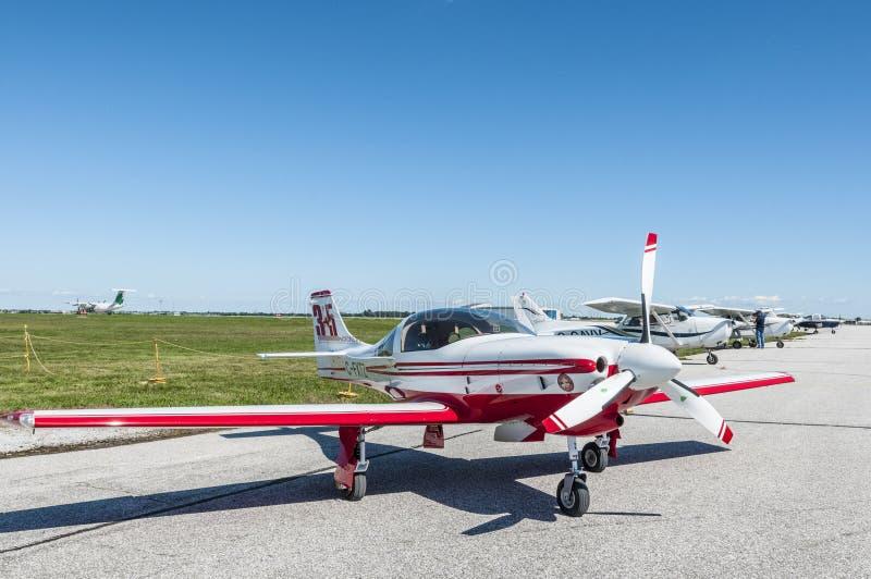 Lancair 320 samolot obraz stock