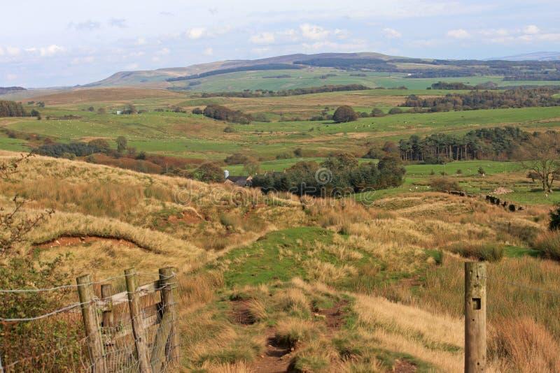Lancashire停泊 库存图片