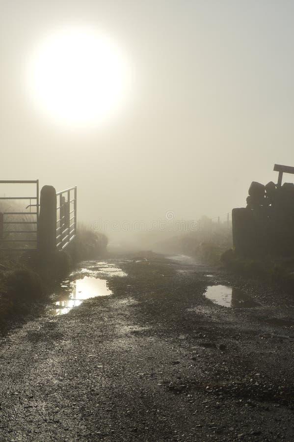 Lancashire attracca all'alba fotografia stock libera da diritti