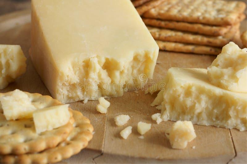 Lancashire-Käse stockfoto