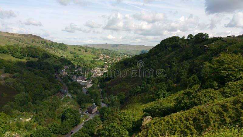 Lancashirevallei royalty-vrije stock afbeelding