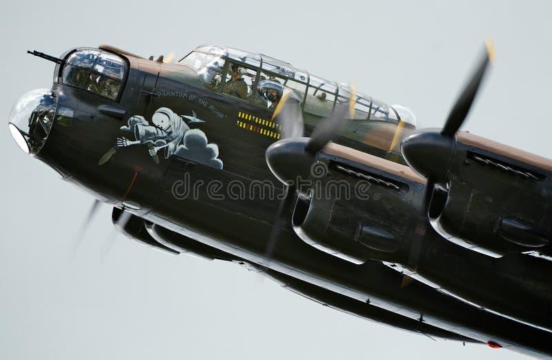Lancaster BBMF photo libre de droits