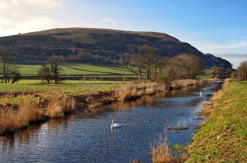 Lancaster-Kanal lizenzfreie stockfotografie
