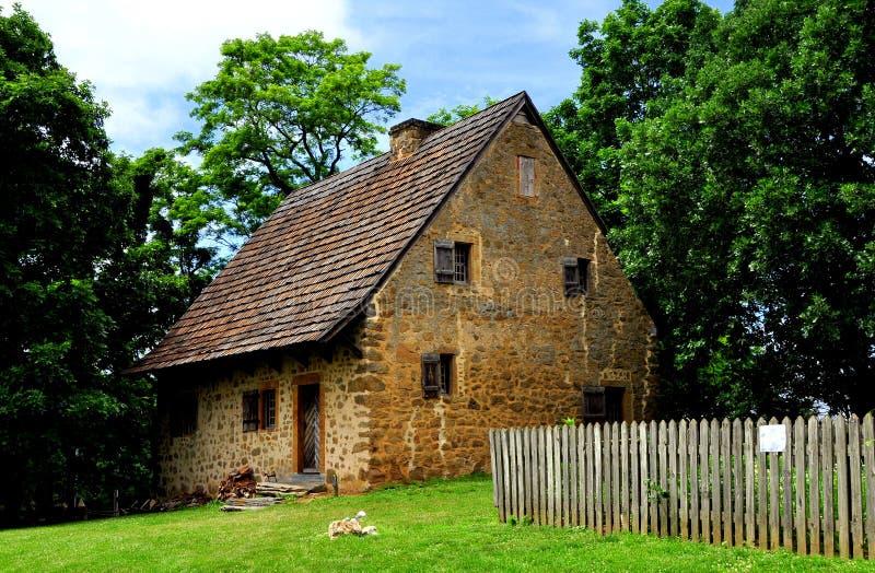 Lancaster, PA: 1719 Hans Herr House royalty-vrije stock foto