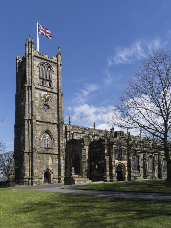 Download Lancaster Priory - Lancaster - England Stock Photo - Image: 30556656