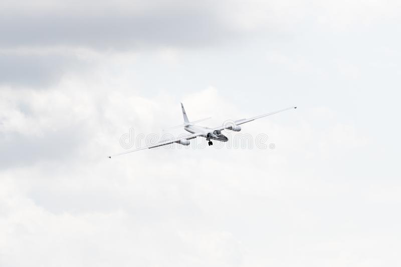 NASA Lockheed ER-2 on display royalty free stock photos