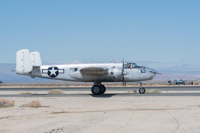 North American B-25 Mitchell stock image
