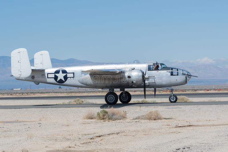 North American B-25 Mitchell royalty free stock photo