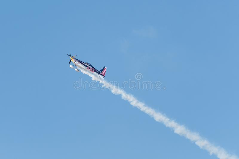 Red Bull Kirby Chambliss – Edge 540 stock photos