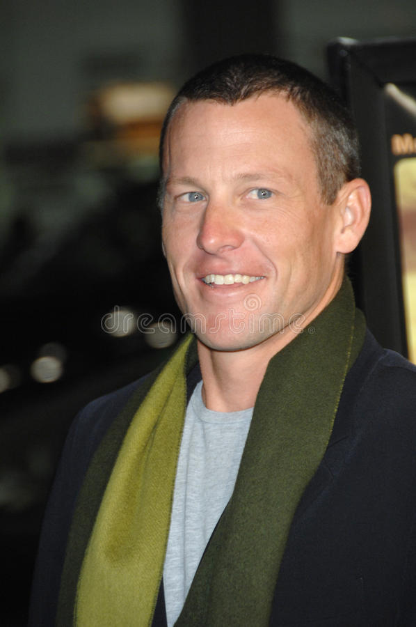 Lance Armstrong imagens de stock royalty free