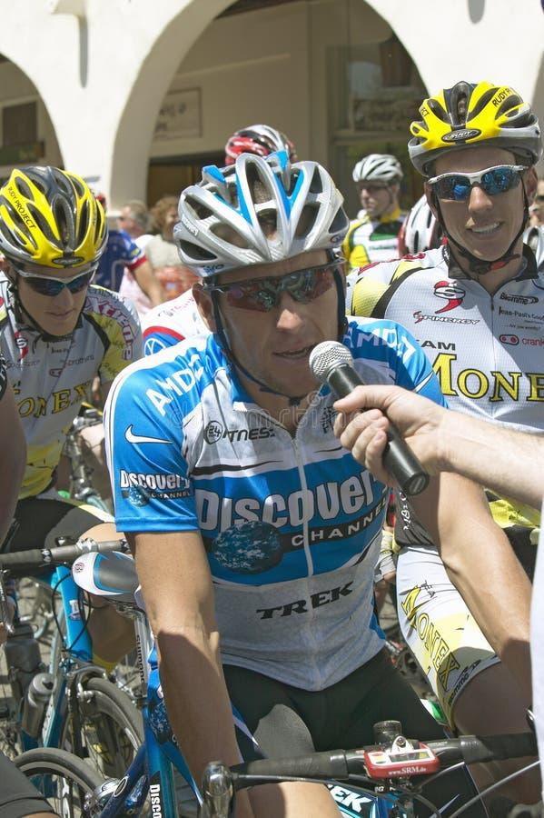 Lance Armstrong royalty-vrije stock fotografie